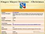 Finger Slayer Seasons - Christmas