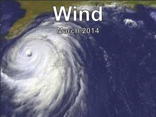 Wind March 2014