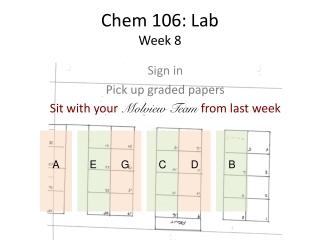 Chem 106: Lab Week 8