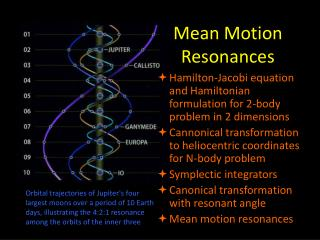Mean Motion Resonances