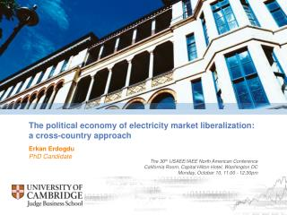 The political economy of electricity market liberalization: a cross-country approach