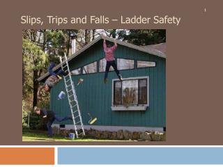Slips, Trips and Falls – Ladder Safety