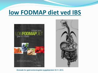 low FODMAP diet  ved  IBS