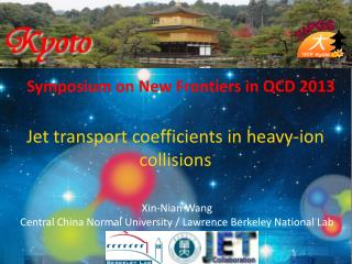 Symposium on New Frontiers in QCD  2013
