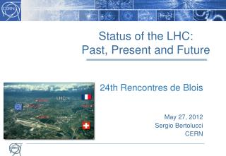 Status of the LHC: Past, Present and Future