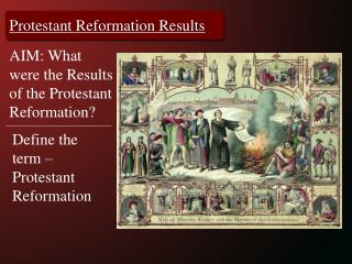 Protestant  Reformation Results