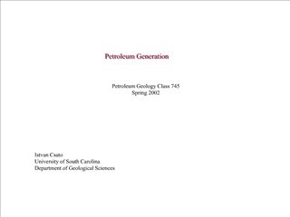 Petroleum Generation