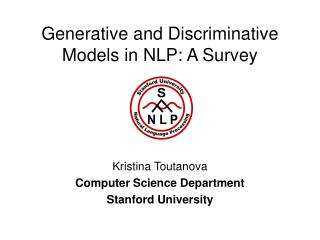 Generative and Discriminative Models in NLP: A Survey