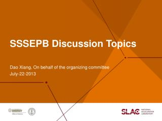 SSSEPB Discussion  T opics