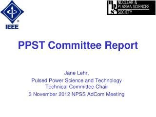 PPST Committee Report