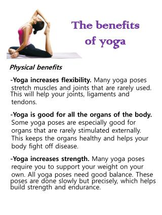 ppt  11 best yoga benefits revealed powerpoint