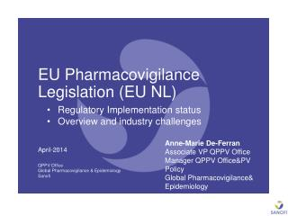 EU Pharmacovigilance Legislation (EU NL)