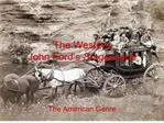 The Western John Ford s Stagecoach