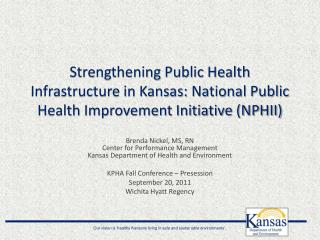 National Public Health Improvement Initiative