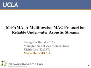 M-FAMA: A Multi-session MAC Protocol for Reliable Underwater Acoustic Streams