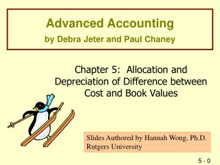 Advanced Accounting by Debra Jeter and Paul Chaney