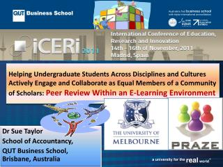 Dr Sue Taylor School of Accountancy,  QUT Business School, Brisbane, Australia