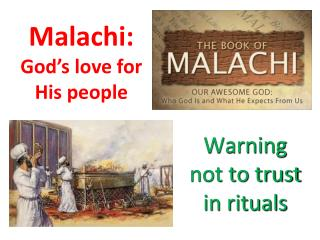 Malachi:  God's love for His people