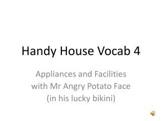 Handy House Vocab 4