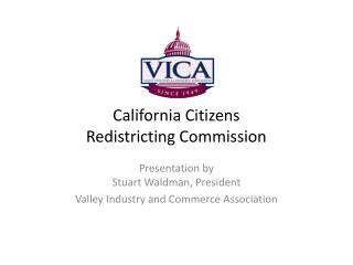 California  Citizens Redistricting  Commission