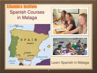 Learn Spanish Spain | Spanish Courses in M??laga | Spanien