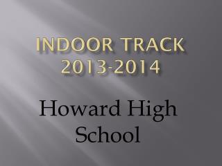Indoor Track 2013-2014