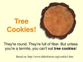 Tree Cookies!