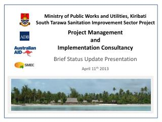 Ministry of Public Works and Utilities, Kiribati