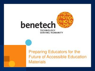 Preparing Educators for the Future of Accessible Education Materials