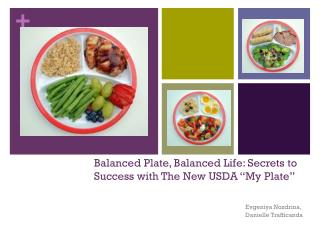 "Balanced Plate, Balanced Life: Secrets to Success with The New USDA ""My Plate"""
