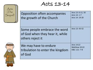 Acts 13-14