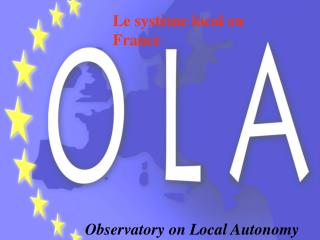 Observatory on Local Autonomy