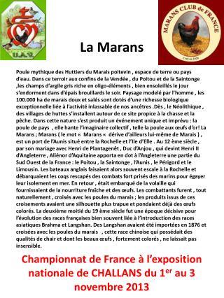 La Marans