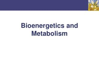 Bioenergetics and Metabolism