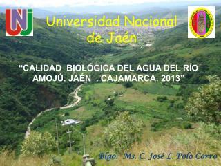 Universidad Nacional de Jaén