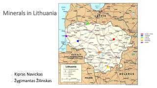 Minerals in Lithuania