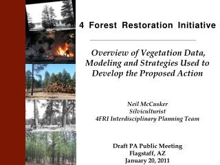 4 Forest Restoration Initiative