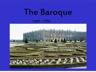 The Baroque