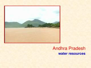 Andhra Pradesh  water resources