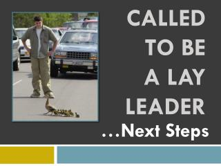 Called to be a Lay Leader