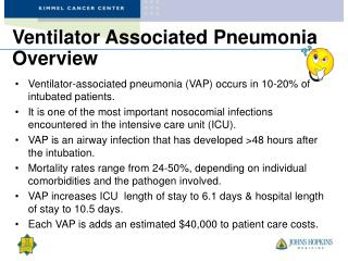 Ventilator Associated Pneumonia Overview