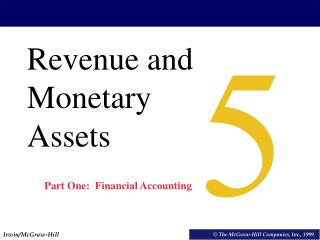 Revenue and Monetary Assets