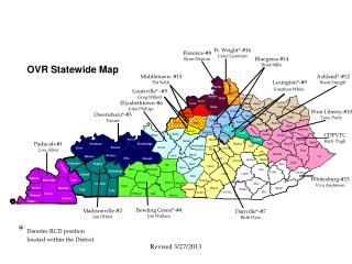 OVR Statewide Map