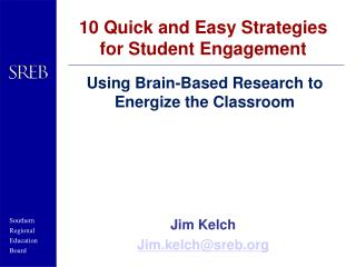 10 Quick and Easy Strategies for Student Engagement