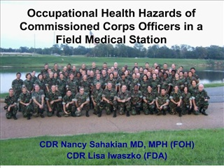 Occupational Health Hazards of Commissioned Corps Officers in a ...