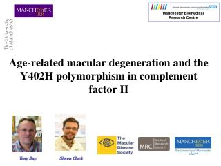 Age-related macular degeneration and the Y402H polymorphism in complement factor H
