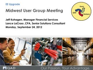 Midwest User Group Meeting