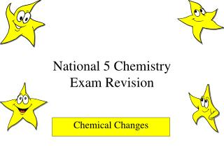 National 5 Chemistry Exam Revision