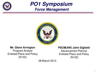 PO1 Symposium   Force Management