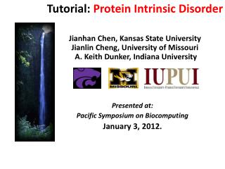 Presented at: Pacific Symposium on  Biocomputing January 3, 2012.